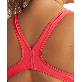 arena Spiral Vision Swmsuit Plus Women navy/fluo red